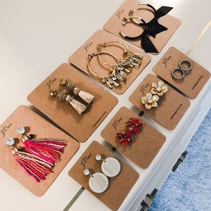 NWT JCREW Earring Lot